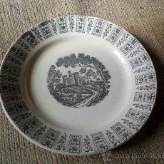 Antigüedades: PLATO PICKMAN - CARTUJA - ANTIGUO. Lote 26599642