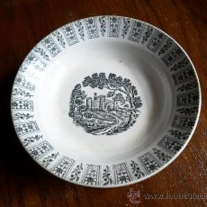 Antigüedades: PLATO PICKMAN - CARTUJA - ANTIGUO. Lote 24796271