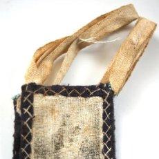 Antigüedades: ESCAPULARIO - GRABADO SOBRE TELA - VIRGEN DEL CARMEN - S. XIX - Nº 5. Lote 26626630