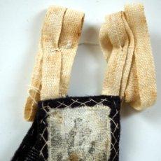 Antigüedades: ESCAPULARIO - GRABADO SOBRE TELA - VIRGEN DEL CARMEN - S. XIX - Nº 8. Lote 26472864