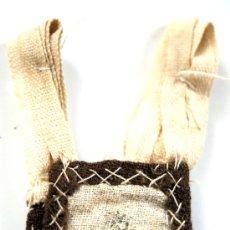 Antigüedades: ESCAPULARIO - GRABADO SOBRE TELA - VIRGEN DEL CARMEN - S. XIX - Nº 11. Lote 26534569