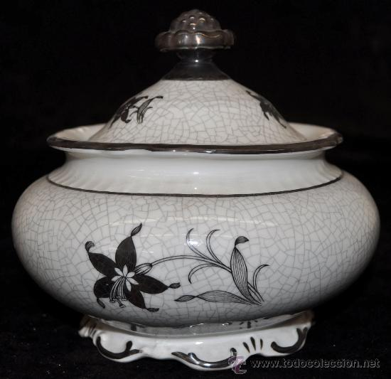 SOPERA EN PORCELANA DE BABARIA (Antigüedades - Porcelana y Cerámica - Alemana - Meissen)