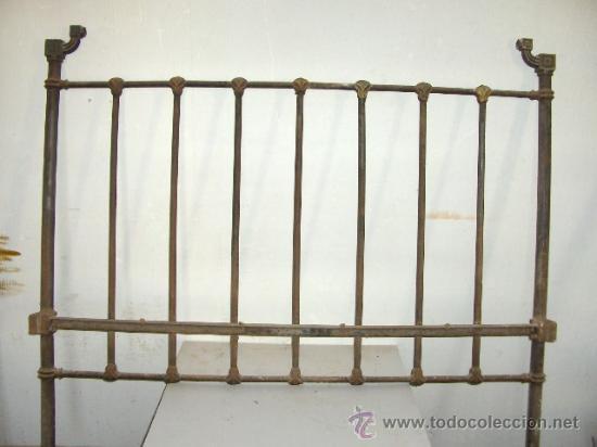 cama antigua de forja o hierro cabecero 137 anc - Comprar Camas ...
