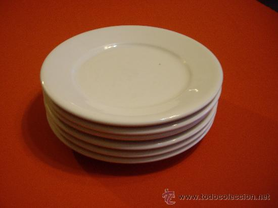 Platos de porcelana blanca santa clara comprar cer mica for Platos porcelana blanca