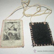 Antigüedades: ANTIGUO ESCAPULARIO DE TELA. Lote 71592673