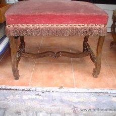 Antigüedades: BANQUETA CLÁSICA. Lote 26339659