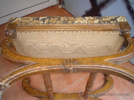 Antigüedades: BANQUETA CLÁSICA - Foto 2 - 26406113