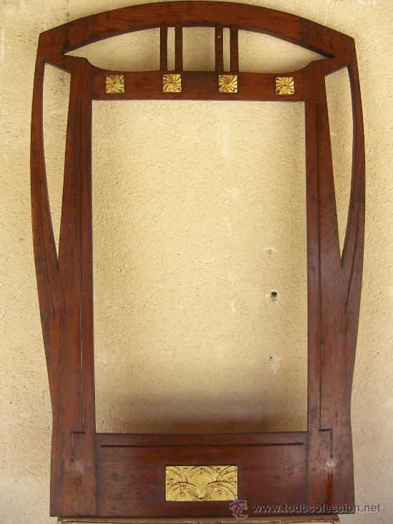 antiguo marco en madera de roble con adornos me - Comprar Marcos ...