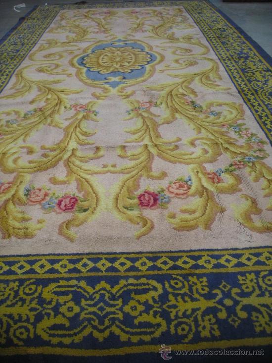 Alfombra real fabrica de tapices fechada en 192 comprar alfombras antiguas en todocoleccion - Fabricantes de alfombras ...