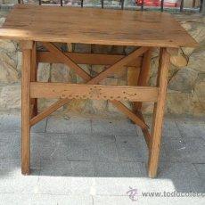 Antigüedades: MESA TOCINERA - ANTIGUA. Lote 26694900