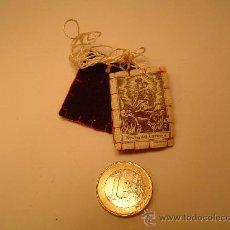 Antigüedades: BONITO ESCAPULARIO VIRGEN DEL CARMEN. Lote 276613868