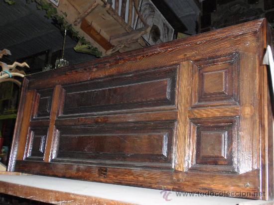 2 cabeceros antiguos hechos de puerta antigua comprar - Cabeceros antiguos restaurados ...
