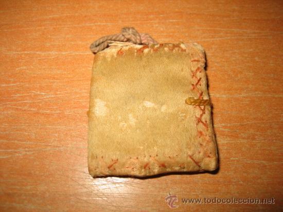 Antigüedades: ESCAPULARIO SAGRADO CORAZON - Foto 2 - 25205884