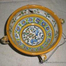 Antigüedades: CUENCO DE TALAVERA. Lote 26885493