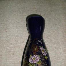 Antigüedades: JARRON DE LOZA AZUL . Lote 26838680