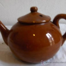Antigüedades: TETERA BARRO. Lote 26706883