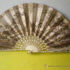 Antigüedades: ABANICO DE MARFIL. Lote 25349517
