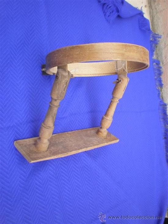 Antigüedades: bordador de madera antigua - Foto 2 - 25350550