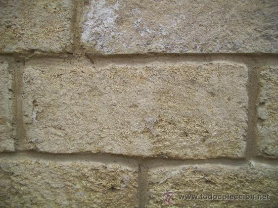 Sillares de piedra arenisca