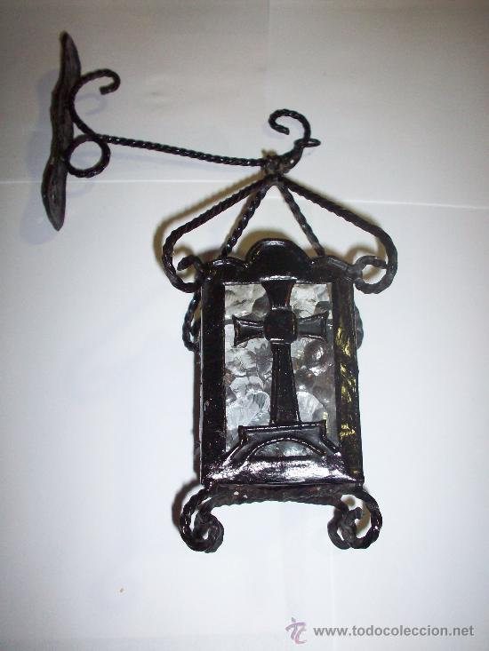 FAROL IGLESIA DE FORJA (Antigüedades - Religiosas - Varios)