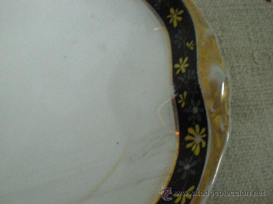 Antigüedades: bandeja de porcelana - Foto 3 - 27018169