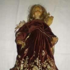 Antigüedades: ANGEL DE CERA. Lote 27063212