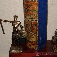 Antigüedades: PAREJA DE DON QUIJOTE Y SANCHO PANZA AÑOS 40. Lote 26810766