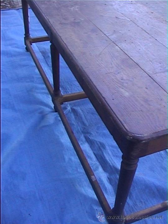 Mesa comedor melis para restaurar comprar mesas antiguas for Antiguedades para restaurar