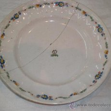 Antigüedades: PLATO DE ALCORA. Lote 27239215