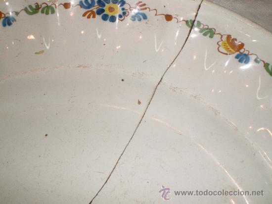 Antigüedades: plato de alcora - Foto 3 - 27239215