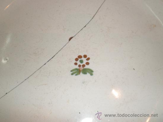 Antigüedades: plato de alcora - Foto 4 - 27239215