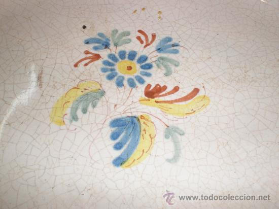 Antigüedades: fuente de alcora - Foto 5 - 27218438