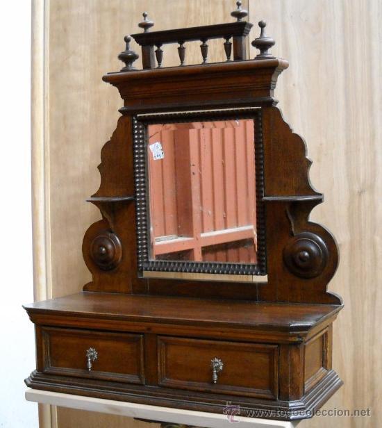 tocador pequeo antigedades muebles antiguos revisteros antiguos