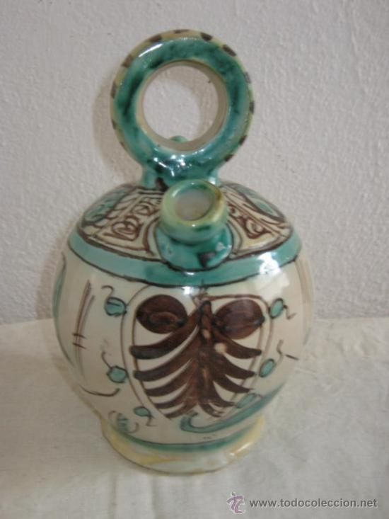 BOTIJO DE TERUEL PUNTER () (Antigüedades - Porcelanas y Cerámicas - Teruel)