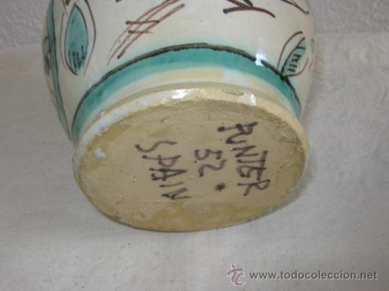 Antigüedades: BOTIJO DE TERUEL PUNTER () - Foto 4 - 25545435