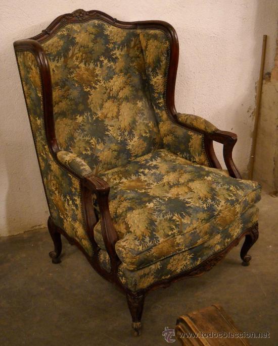 Sill n isabelino comprar sillones antiguos en for Sillones clasicos antiguos