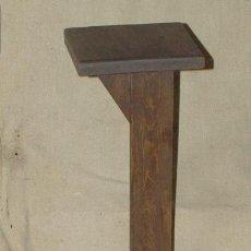 Antigüedades: MACETERO MADERA. ART NOUVEAU. C 1920.. Lote 25561076