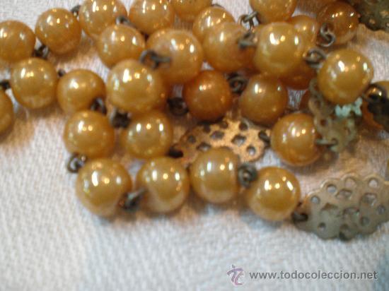 Antigüedades: rosario de cuentas anacaradas - Foto 2 - 27256507
