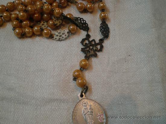 Antigüedades: rosario de cuentas anacaradas - Foto 4 - 27256507