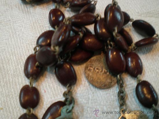Antigüedades: rosario de cuenta de lentejas - Foto 3 - 27218450