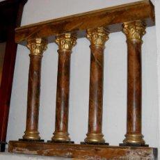 Antigüedades: BARANDILLA DE IGLESIA. Lote 25607935