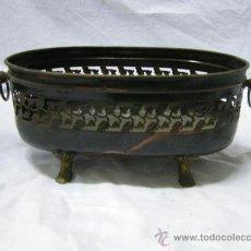 Antigüedades: JARDINERA METAL ANTIGUA. Lote 25628522