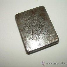 Antigüedades: ANTIGUO SELLO DE ACERO.....GRABADO CON LAS LETRAS...C.P. DE PONS. Lote 27013478