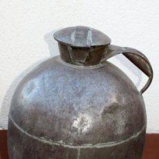 Antigüedades: ANTIGUA Y RARA LECHERA - MODELO MUY DIFICIL DE ENCONTRAR - EN GENERAL - TIENE ALGUN GOLP. Lote 27374806