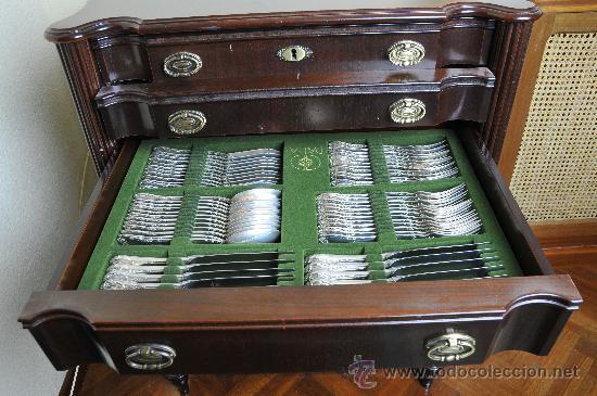 Cuberter a completa de plata sin estrenar con comprar objetos plater a antigua en - Precio cuberteria plata ...