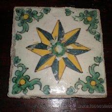 Antigüedades: AZULEJO DE MANISES. Lote 25928551