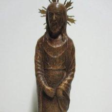Antigüedades: IMAGEN DE CRISTO EN TERRACOTA DEL XX. Lote 27515185