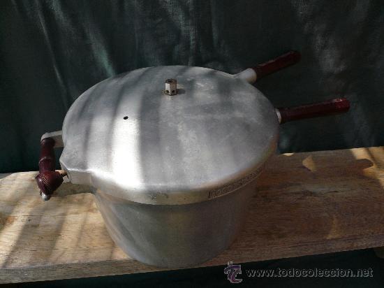 Antigüedades: ANTIGUA OLLA A PRESION COCOTTE MINUTE - Foto 2 - 26100846