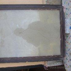 Antigüedades: MARCO ANTIGUO MADERA, PARA RESTAURAR 69X53. Lote 25915075