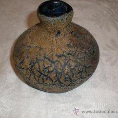 Antigüedades: FRASCO DE VIDRIO DE GUARDIOLA ANTIGUO. Lote 27611144